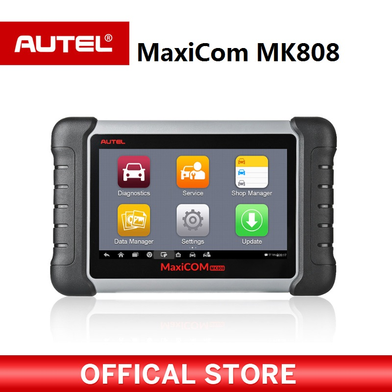 Autel MaxiCOM MK808 OBD2 инструмент диагностики ODB2 сканер автомобильной код читателя для ключевых программ EPB IMMO DPF SAS TMPS PK MX808