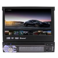 Eincar 7 Android 6 0 Flip Out Car DVD Stereo Radio Single Din 1DIN 4Core Unit