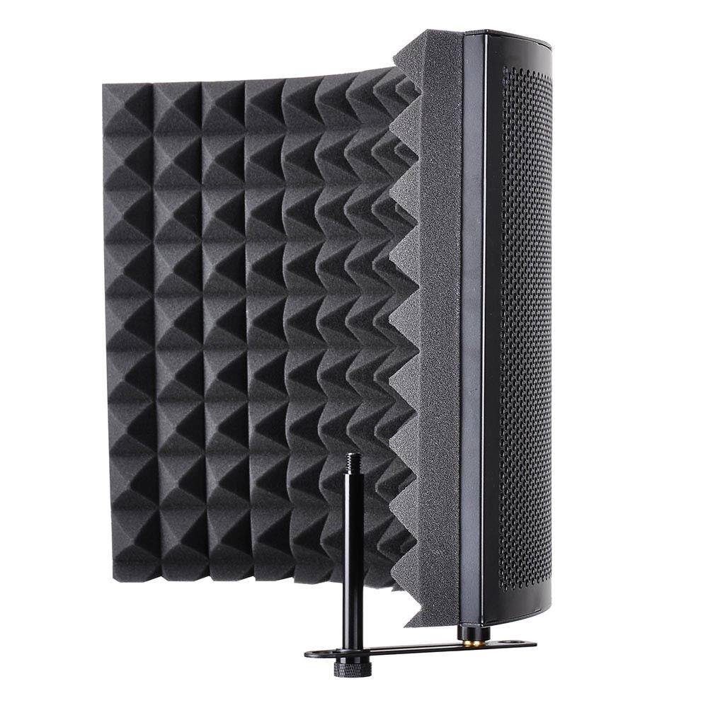 COUD-Studio Microphone Isolement Bouclier Acoustique Enregistrement Amortisseur de Bruit Panneau De Mousse - 2