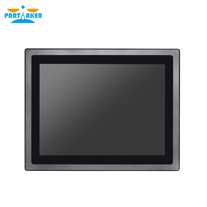 Z17 4G RAM 64G SSD 12 Inch IP65 Waterproof Fanless Embedded Touch Screen Linux  Intel J1900 Rs232 Industrial Panel PC