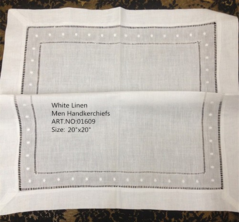 Fashion Unisex Handkerchiefs 12PCS/Lot 20'x20