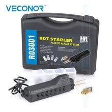 VECONOR Hot Stapler Plastic Repair System Welding Gun Bumper Fairing Auto Body Tool Plastic Welder Staple