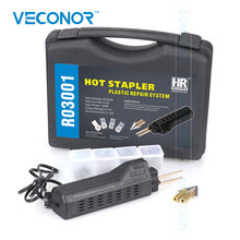 VECONOR 핫 스테이플러 플라스틱 수리 시스템 용접 총 범퍼 페어링 자동차 바디 도구 플라스틱 용접기 스테이플