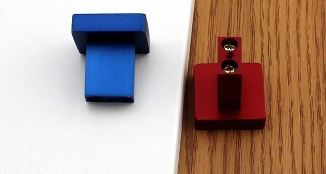 Cor lidar moderno Rosa Vermelha Rosa azul roupeiro armário gaveta do armário da porta puxador de gaveta punho lidar com buraco Hardware Móveis