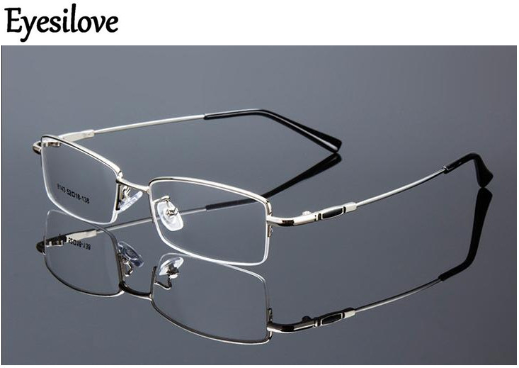 e060ae3a66 Eyesilove metal Finished myopia glasses Nearsighted Glasses prescription  glasses for men women eyewear diopter -0.50 to -6.00