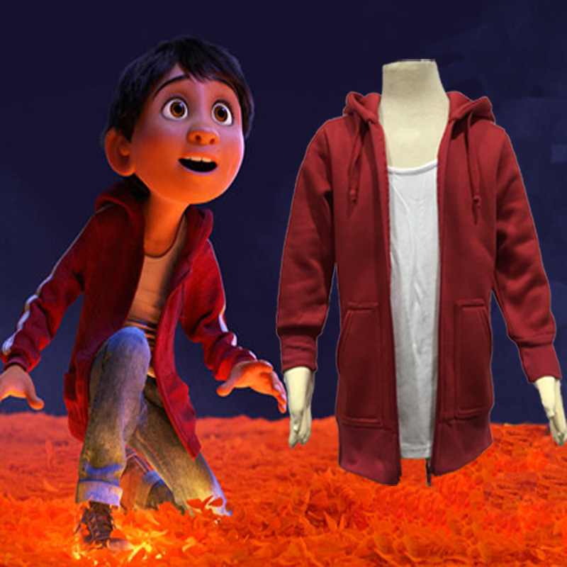 red Baby Outerwear Clothes Cartoon coco Children Kids Boys Outerwear hoodies zipper Coat for Boys Outerwear Clothing jacketred Baby Outerwear Clothes Cartoon coco Children Kids Boys Outerwear hoodies zipper Coat for Boys Outerwear Clothing jacket
