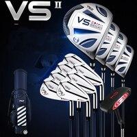 PGM VS II Для мужчин для гольфа полный набор гольф Стандартный мяч мешок и гольф клубы правой рукой
