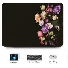 Твердый чехол для ноутбука с клавиатурой нового macbook air