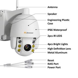 Image 4 - Jennov 5XZOOM PTZ IP Camera 1080P 2MP Two Way Audio Outdoor Video Surveillance Camera Wifi Home Security Wireless Wifi Cameras