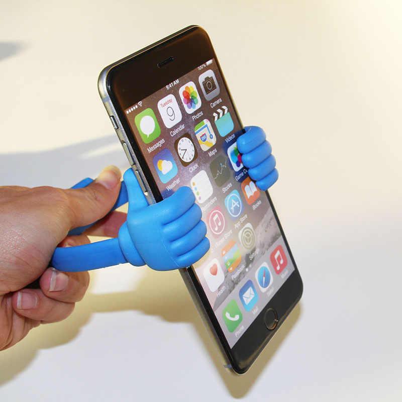 جديد لطيف البسيطة اللوحي حامل هاتف محمول اللوحي العالمي قابل للتعديل البلاستيك الابهام قوس ل الكتاب الإلكتروني مصغرة Xiaomi ipad 2 3 4 5