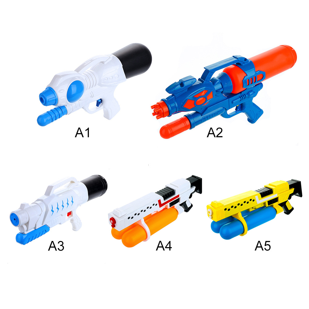 5 Styles High Pressure Child Beach Big Water Gun Toys Sports Game Shooting Pistol Pump Action Outdoor Toy