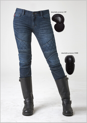 newest Uglybros moto pants Guardian-G stylish jeans women jeans Motorcycle pants Jeans women jeans pants bulue stylish solid color suede women s narrow feet pants