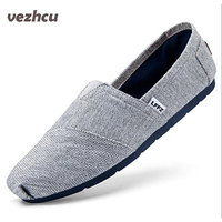 Summer Fashion Men Canvas Shoes espadrilles Men Casual Shoes Slip on Breathable Men Flats Shoe Zapatos Hombre cd28