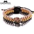 Special Palm Micro Pave Zircon Beads Strand Bracelets For Men Women Luxury Jewelry Bead Bracelet Watch Bangles Chain Accessories