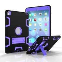 Для Apple, Pad Mini 1 2 3 4 2 3 4 Крышка противоударный Защитный Броня Корпуса Heavy Duty Tablet Чехол для Pad 6 Air2 Pro 9.7