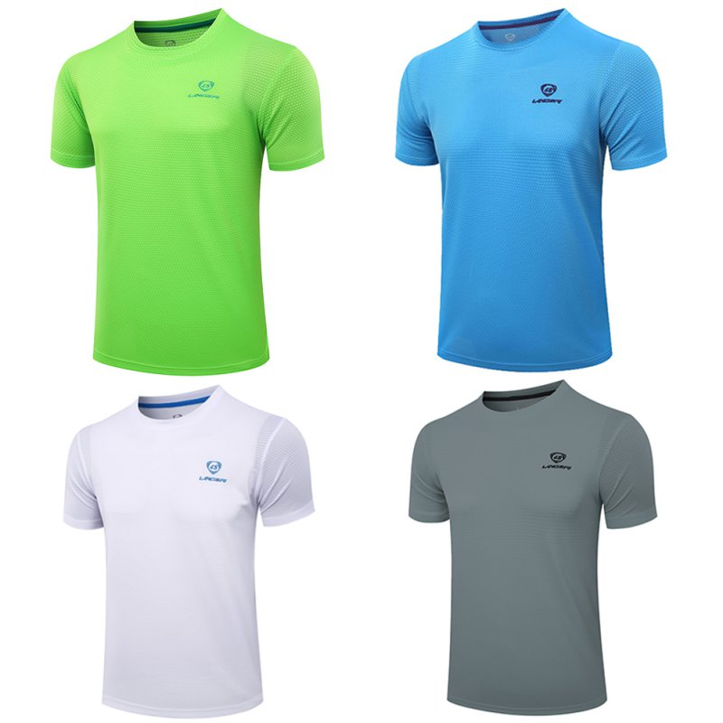 Outdoor sports running men's T-shirt bodybuilding fitness quick-drying breathable shirt O-neck compression shirt T-shirt choker neck cold shoulder t shirt