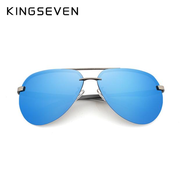 b3c68c2009 kingseven Aluminum magnesium HD polarized aviation Sunglasses women men  driving sun Glasses vintage oculos de sol