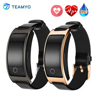 TEAMYO Smart Band CK11S Blood Pressure Watch Blood Oxygen Heart Rate Monitor Smart Bracelet Pedometer IP67