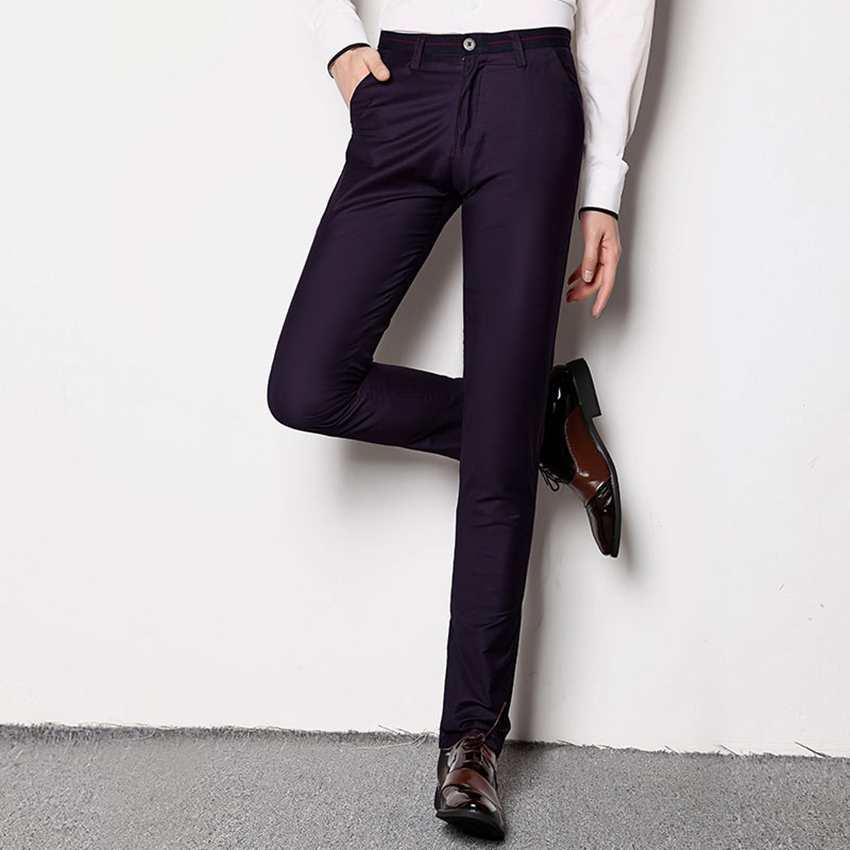 Popular Purple Dress Pants Men-Buy Cheap Purple Dress Pants Men ...