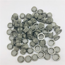 Stainless Steel Metal Screen filters Smoke Accessories about 0.5 inches for Crystal Quartz Smoking pipes