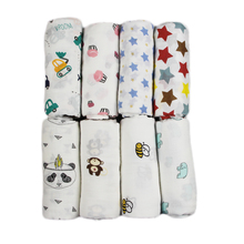 100% Newborn Baby Swaddle Soft Muslin Blankets Infant Wrap Manta Miracle Bath Towel Bamboo