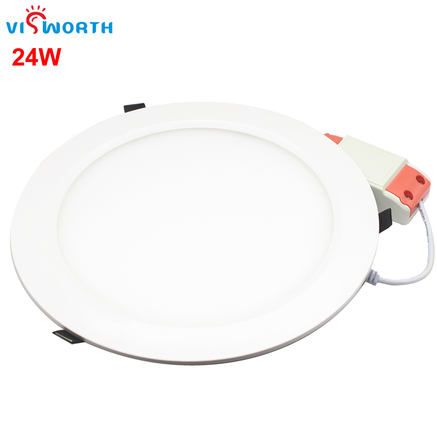 Spot Led Us 22 56 6 Off Ulter Thin Round Suspended 8 Inch Led Panel Light 24w Led Spot Led Lamp Ac220v 230v 240v Led Smd2835 90pcs Leds Bulb In Led Panel