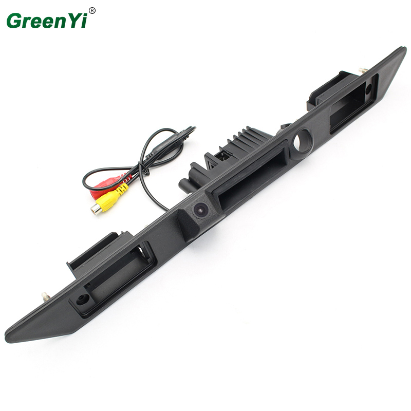 Special Car Rear View Camera For Audi A3 A4 A5 A6 A8 Trunk Handle Revese Backup Camera Color Night Vision Waterproof