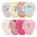 Newborn baby clothes 100% cotton jumpsuit baby boy girl long-sleeved costume new born rompers clothes