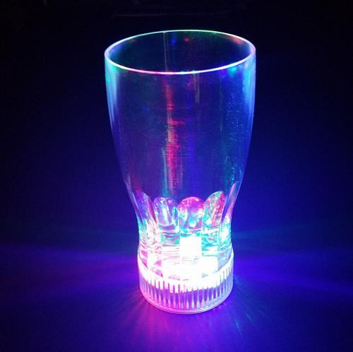 20pcslot multicolor flashing led light fancy shot glasses drinkware beer coke drink cup for