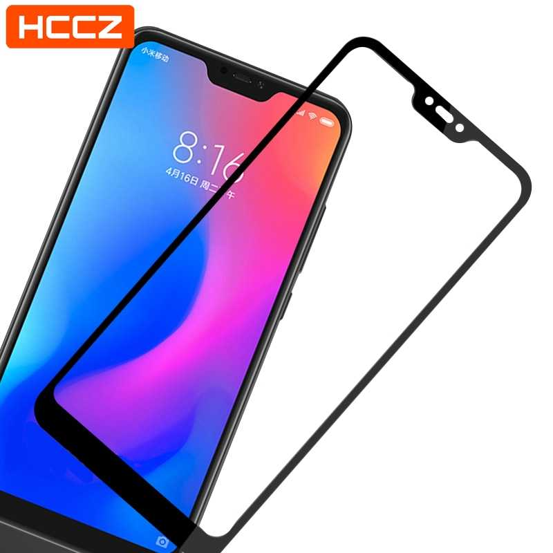 For Xiaomi Mi A2 Lite Play 6X Protective glass Full Cover Screen Protector Redmi Note 7 6 Pro 6A S2 Pocophone F1 Tempered glass