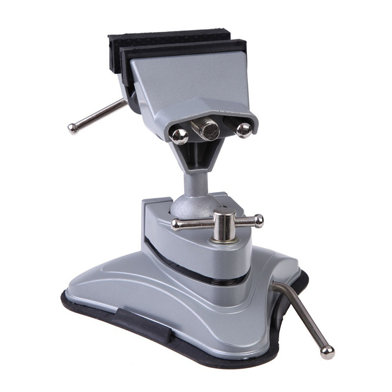 New High Quality Manual Control Machine Tools & Accessories Vise Aluminum Swivel Base Table Bench Vise Vice Clamp Tool  HR new original base 1734 tbs high quality