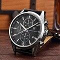 9e19bdf24da Homens Clássico Da Moda Marca de Topo de Quartzo Relógio Multifunction  Esporte Militar Relógios Homens relogio