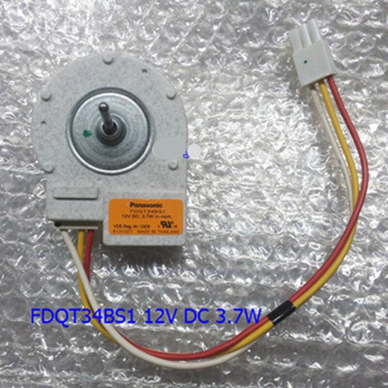For Siemens Bosch refrigerator motor fan motor FDQT34BS1 12V DC refrigerator parts for panasonic siemens bosch refrigerator motor fdqt26bs3 12v dc refrigerator parts