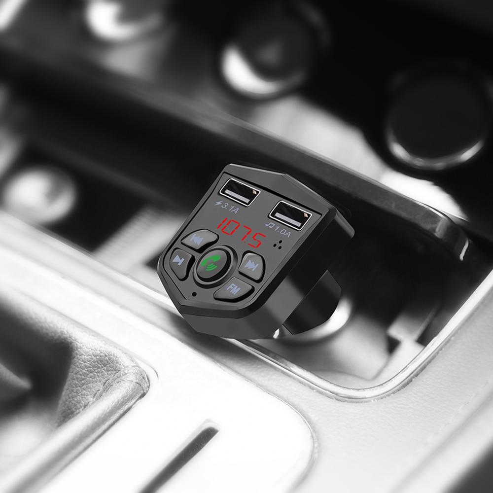car fm transmitter bluetooth