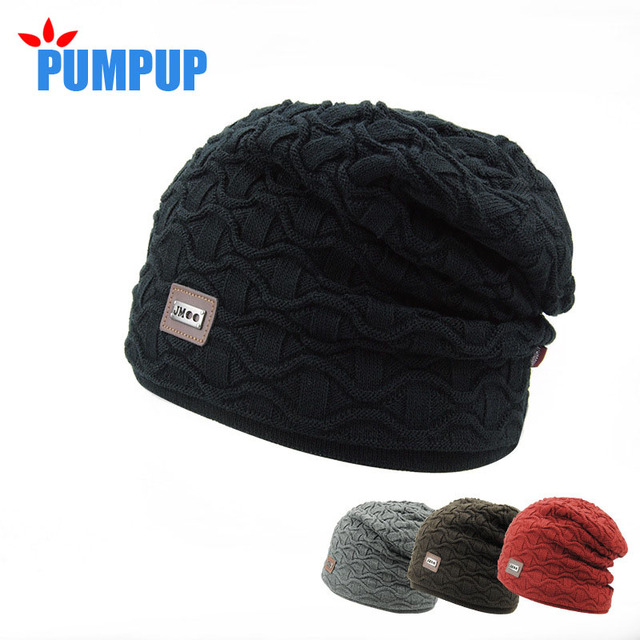 2016 knitted cap Acrylic knitted cap han edition thickening hat man winter  warm Small scale leisure 61fa4e356