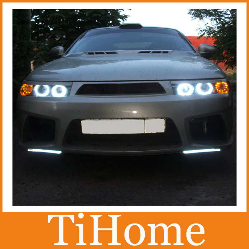 Free Shipping LADA 2112 CCFL ANGEL EYES ,NON PROJECTOR HALO RING FOR Lada 2112 ,4 CCFL Head Lamp Rings LADA 2112