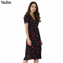 1a3316e087856 Popular Floral Midi Dress-Buy Cheap Floral Midi Dress lots from ...