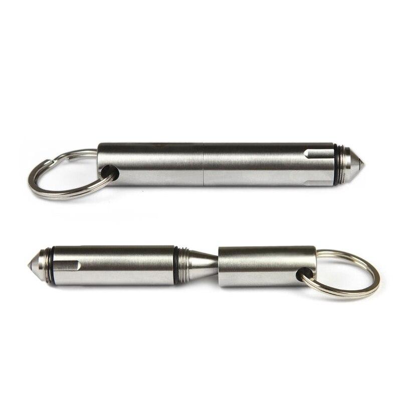 Self Defense Tactical Pen EDC Tool Pocket Tactical Pen Survival Outdoor Stainless Steel Tool Broken Window Glass Breaker