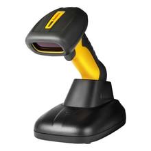 Lasar RD-6870W Alta Resolución 32 bits inalámbrico escáner de código de Escáner de código de Barras industrial a prueba de agua para sistemas de punto de venta