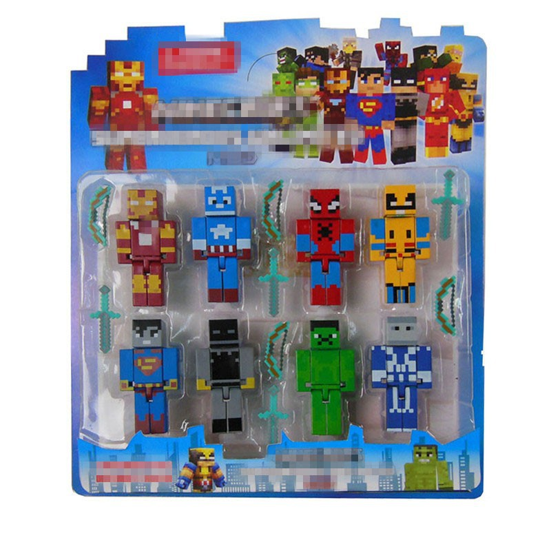 Box Minecraft Series 3 Toys 2015 New Anime Minecraft Sword
