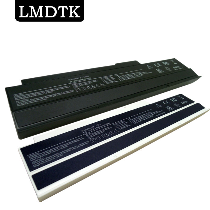 LMDTK New 6 cells laptop battery FOR ASUS Eee PC 1015 1015B 1015P 1016 1016P 1215 1215B VX6 SERIES A31-1015 A32-1015 AL31-1015