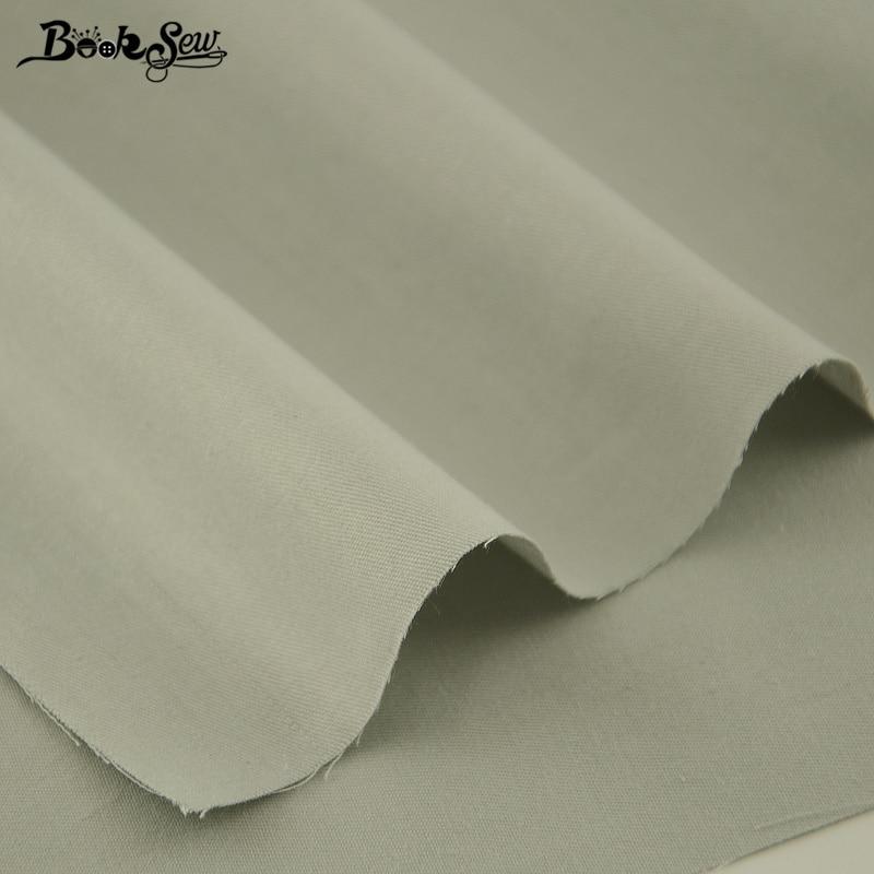Booksew 100% tkanina bawełniana Biały kolor Telas Por Metro - Sztuka, rękodzieło i szycie - Zdjęcie 4