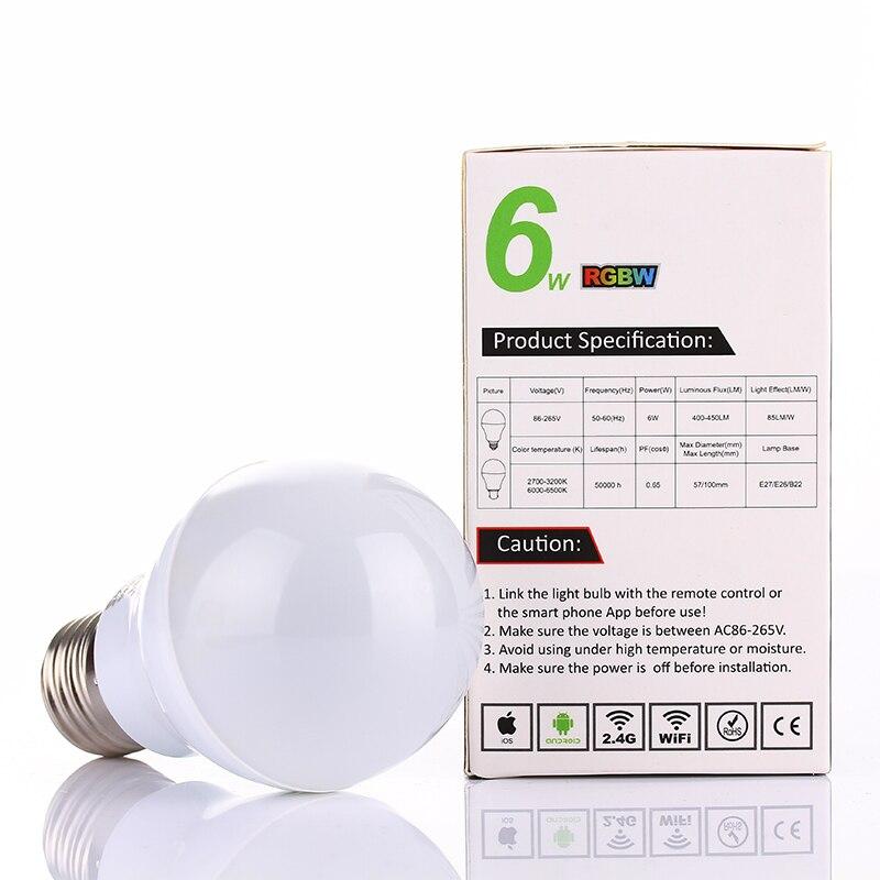 Lâmpadas Led e Tubos color changing led regulável lâmpada Modelo Nº : Fut013