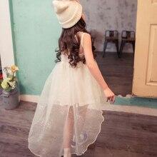 Sommer kinderkleidung kleid mädchen baby fisch prinzessin kleid weißen abendkleid blumenmädchen kleid