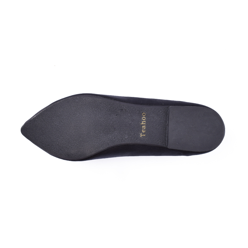 Rhinestone Flats Shoes Woman 2017 Dress Flats Female Ballet Shoes PLUS SIZE 34-43 Comfort Rhinestones Casual Flats zapatos mujer 5