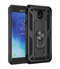 TPU+PC 360° Rotating Armor Resistant Bracket Anti Scratch Case For Samsung Galaxy J7 2018 Shock Proof