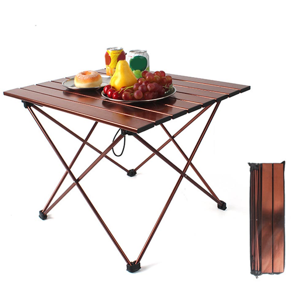 Portable Foldable camping table Folding Table Desk Camping Outdoor Picnic Aluminium Alloy Ultra light outdoor furniture