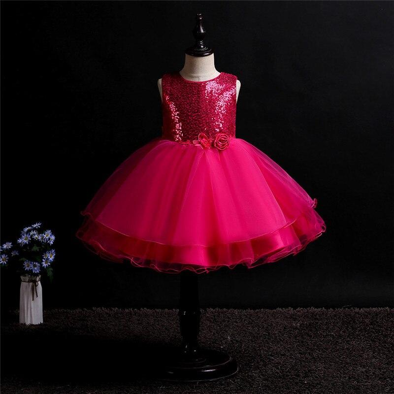 522be43d60e Детское платье-пачка принцессы с цветочным рисунком для девочек ...