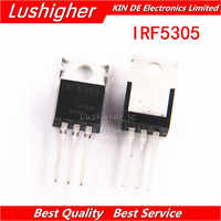 100pcs IRF5305 TO-220 IRF5305PBF TO220 New