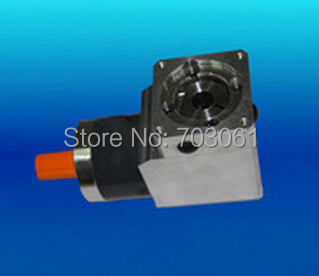 120mm planetary gearbox right angle flange output use for servo and stepper motor DC Speed Reducers 60mm right angle planetary gearbox round flange output dc motor hot sale good price small planetary gearbox micro motor